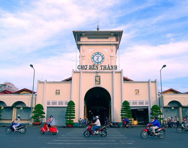 Những địa điểm tham quan ở Sài Gòn. Du lịch Sài Gòn nên đi đâu chơi? Chợ Bến Thành