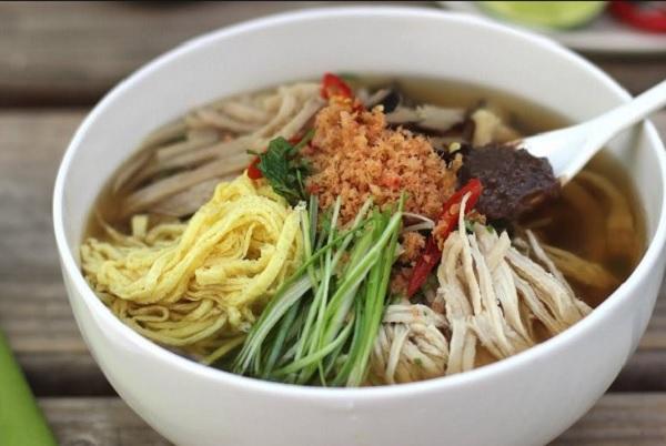 Những món ăn ở Hà Nội. Bún thang. Món ăn đặc sản ở Hà Nội