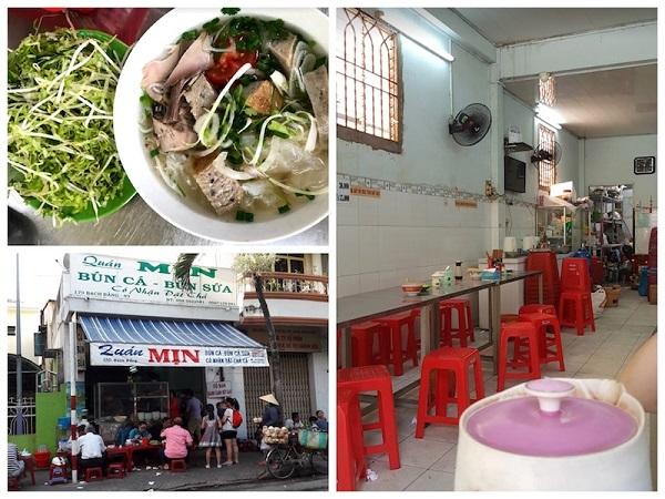 Quán ăn ở Nha Trang ngon, bổ, rẻ: Quán bún cá sứa Tăng Bạt Hồ